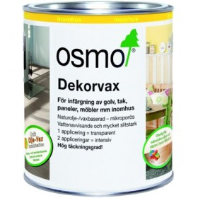 Osmo Dekorvax Transparent 3111 vit 0,75 liter