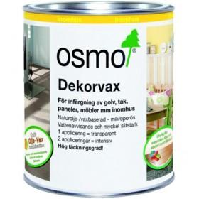 Osmo Dekorvax Intensiva kulörer 3169 svart 0,75 liter