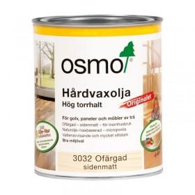 Osmo Hårdvaxolja Originalet 3032 Ofärgad sidenmatt 0,75 liter