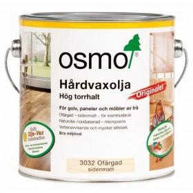 Osmo Hårdvaxolja Originalet 3032 Ofärgad sidenmatt 2,5 liter