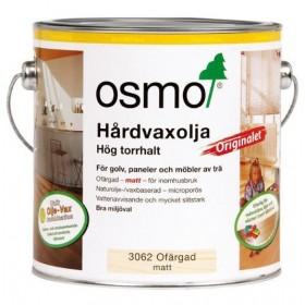 Osmo Hårdvaxolja Originalet 3062 Ofärgad matt 2,5 liter.