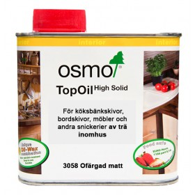 Osmo Top-Oil 3058 Ofärgad matt 0,5 liter